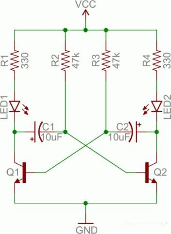 从8张电路图深入理解晶体管开关电路