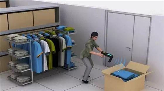 村田RFID标签在服装管理的应用