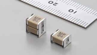 村田X1/Y2金属端子安规电容KCA系列Type MF